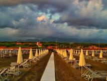 La spiaggia - Bagno roma fiumetto ...